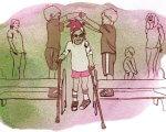 ДЦП: обзор методик реабилитации. Часть 2. дцп, занятие, лечение, метод, пациент, drawing, cartoon, illustration, sketch, child art, clothing, person. A close up of text on a white background
