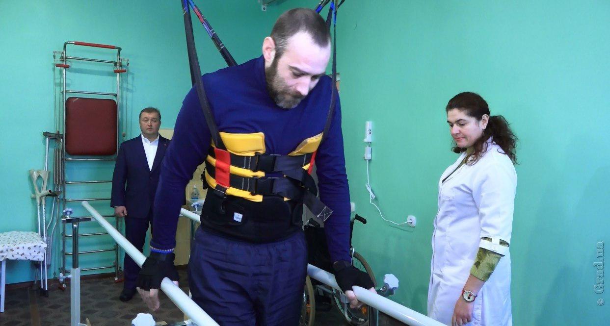 В Киевском районе Одессы работает уникальный реабилитационный центр (ВИДЕО)