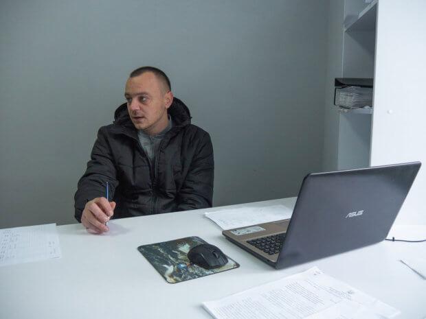 Коломиянин Роман Губач – про соціальне таксі як приклад вдалої ініціативи. коломия, роман губач, оператор, соціальне таксі, інвалідність
