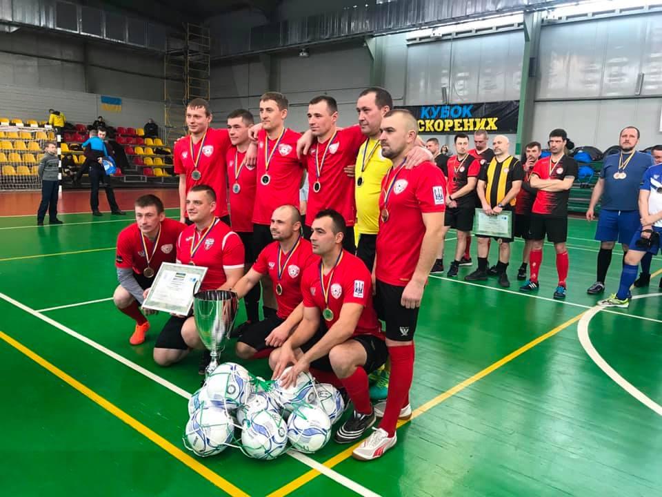 Луцька команда учасників АТО здобула перемогу на Кубку Нескорених в Києві