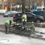 В Мелитополе все тротуары хотят сделать доступными для людей с инвалидностью