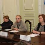 Світлина. У Харкові перевірили доступність поліклінік для людей з інвалідністю. Безбар'ерність, доступність, засідання, Харків, моніторинг, поліклініка