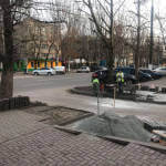 Світлина. В Мелитополе все тротуары хотят сделать доступными для людей с инвалидностью. Безбар'ерність, инвалидность, моніторинг, инвалидная коляска, Мелітополь, тротуар