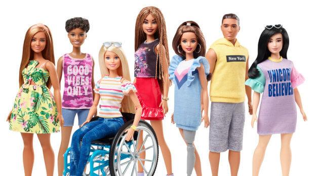 """""""Барбі"""" стане інклюзивною: Mattel випустить ляльку на інвалідному візку і з протезом. mattel, барбі, лялька, протез, інвалідний візок"""