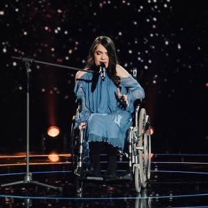 ''Прямо в душу влізла'': дівчина-інвалід довела до сліз суддів ''Голосу країни'' (ФОТО, ВІДЕО)
