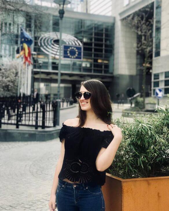 Незряча тернополянка Ірина Білогорка стала студенткою престижного американського університету. ірина білогорка, сша, незряча, студентка, університет