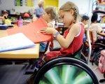 Образование и досуг: как в Херсоне развивают детей с ограниченными возможностями. марина колокот, херсон, досуг, инклюзивное образование, инклюзия, person, indoor, child, clothing, little, girl. A little girl sitting on a motorcycle