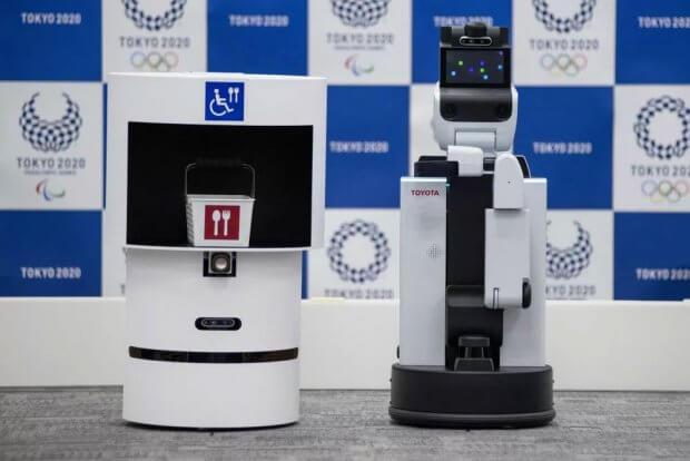 Людям с инвалидностью, которые посетят Олимпиаду-2020, будут помогать роботы. dsr, hsr, олимпиада-2020, инвалидность, робот