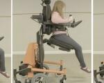 Стояти, сидіти, лежати: стартап створив інвалідний візок, що дозволяє змінювати положення (ВІДЕО). ablechair, пересування, положення, пристрій, інвалідний візок, sport, exercise device, weapon, office. A person sitting on a chair
