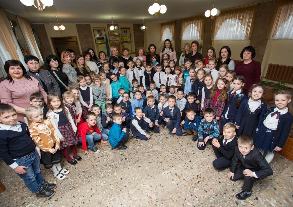 Марина Порошенко: На Закарпатті в результаті реформи інклюзивної освіти кількість учнів з особливими освітніми потребами у школах зросла в 2,5 рази