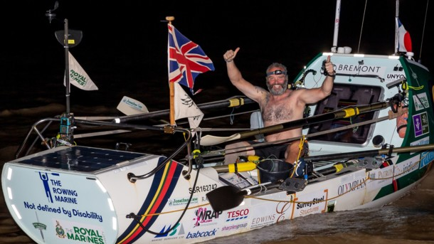 Ветеран перетнув Атлантику і встановив два рекорди відразу АТЛАНТИКА ЛІ СПЕНСЕР ВЕТЕРАН РЕКОРД ІНВАЛІД
