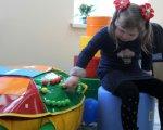 13-й ІРЦ на Буковині обслуговуватиме до 2000 дітей з особливими освітніми потребами. ірц, буковина, особливими освітніми потребами, інклюзія, інтеграція, person, toddler, indoor, wall, child, baby, young, playground, toy, little. A small child sitting on a table