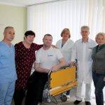 Світлина. Володимир Ширма: У центрі вертебрології лікують та реабілітують професійно, з душевним теплом. Реабілітація, інвалідність, лікування, Житомир, пацієнт, центр вертебрології