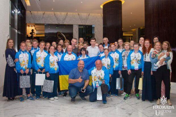 Участь Національної збірної Спеціальної Олімпіади України у Всесвітніх Літніх Іграх Спеціальної Олімпіади ВСЕСВІТНІ ЛІТНІ ІГРИ ОАЕ СОУ ЗМАГАННЯ СПОРТСМЕН