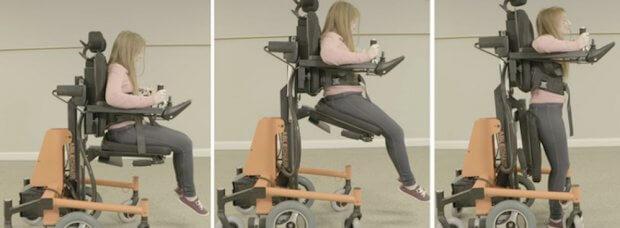 Стояти, сидіти, лежати: стартап створив інвалідний візок, що дозволяє змінювати положення (ВІДЕО) ABLECHAIR ПЕРЕСУВАННЯ ПОЛОЖЕННЯ ПРИСТРІЙ ІНВАЛІДНИЙ ВІЗОК