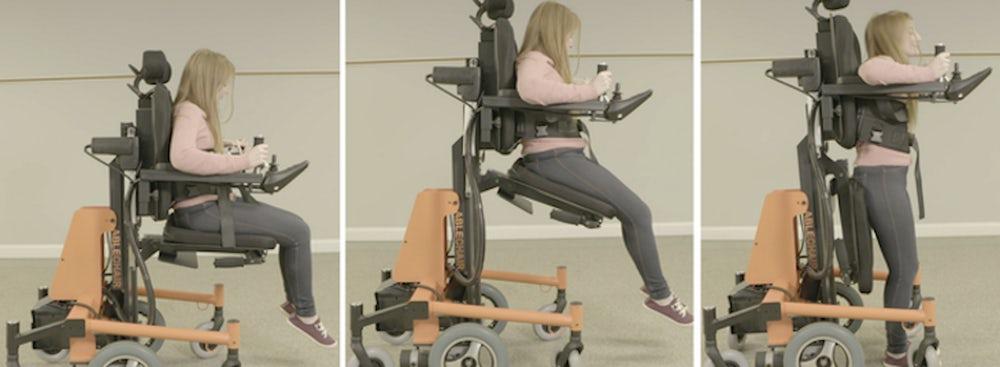 Стояти, сидіти, лежати: стартап створив інвалідний візок, що дозволяє змінювати положення (ВІДЕО)