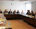 Права людей з особливими потребами в стандартах ООН та Ради Європи. львів, недієздатність, суддя, тренинг, інвалідність, indoor, person, table, wall, floor, people, human face, bottle, group, several. A group of people sitting at a table
