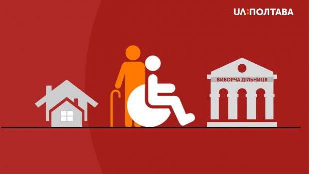 Для людей з інвалідністю облаштують спеціальні кабінки для голосування на виборах. полтавська область, вибори, голосування, незрячий, нечуючий