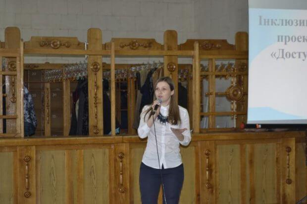У Полтаві презентували створення інклюзивного проекту «Доступ». полтава, працевлаштування, проект доступ, інвалідність, інклюзія