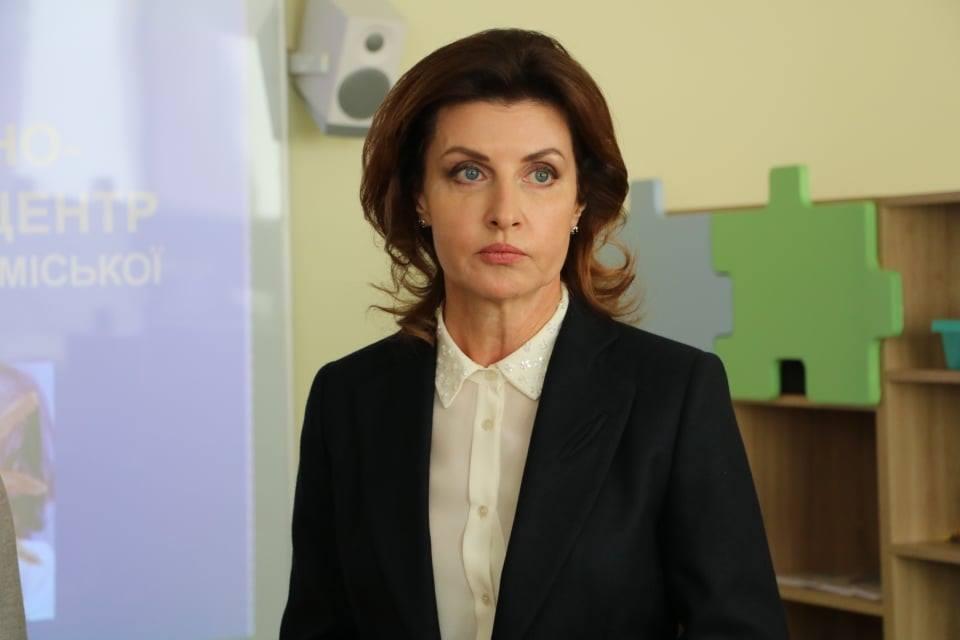 Перша леді відкрила ресурсну кімнату у Новокаховській школі (ФОТО)