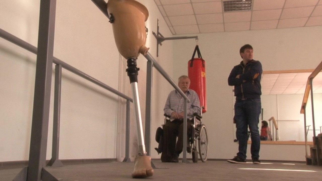 Реабілітаційну кімнату відкрили у Черкаському протезно-ортопедичному цеху (ВІДЕО)