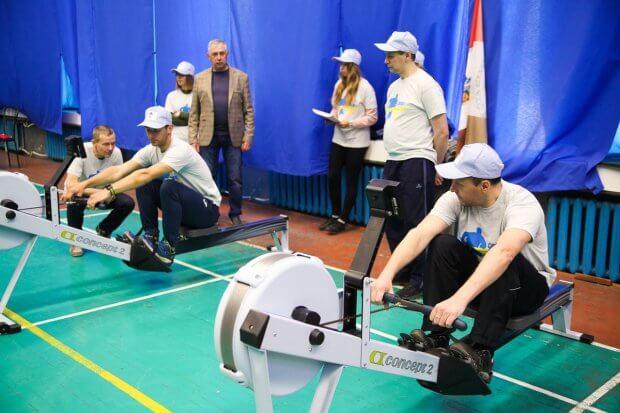 У Дніпрі відбулася перша обласна спартакіада для бійців з інвалідністю (ФОТОРЕПОРТАЖ). дніпро, атовець, змагання, спартакиада, інвалідність