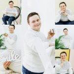 Світлина. День іншого життя! У Дрогобичі для осіб з обмеженими фізичними можливостями організували благочинну фотосесію. Новини, фотосесія, Дрогобич, БФ Карітас, Оля Радіонова, проект Краса всередині