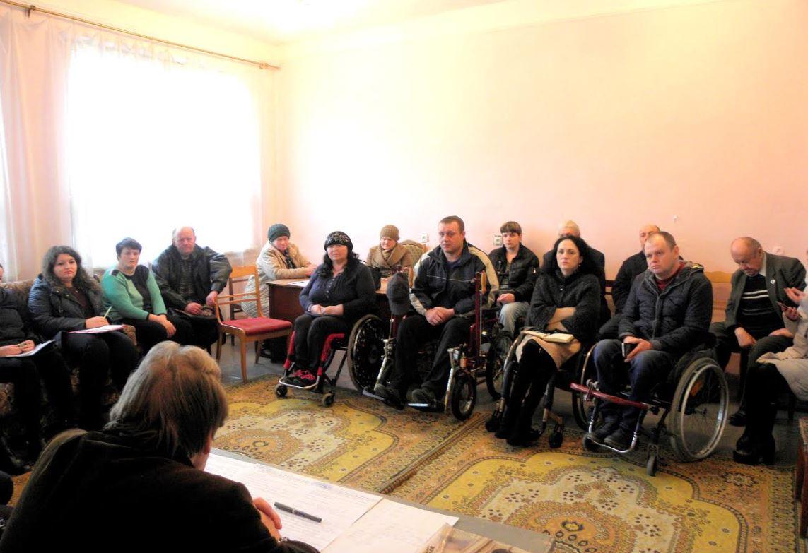 У РБНК обговорили питання соціального захисту осіб з інвалідністю