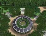 У Черкасах планують зробити інклюзивний парк (ФОТО). черкаси, грант, універсальний дизайн, інвалідність, інклюзивний парк, tree, outdoor, flower, plant, screenshot, garden, bushes, surrounded. A close up of a flower garden