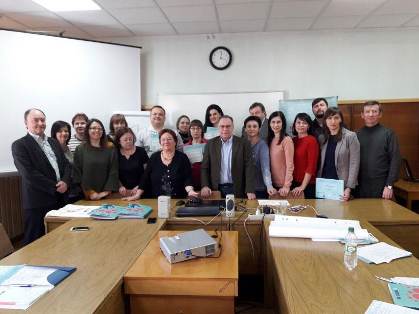 Участь у семінарі по впровадженню послуги раннього втручання та реабілітації дітей з інвалідністю і дітей, які мають ризик отримати інвалідність, організований Мінсоцполітики України за участю європейських експертів