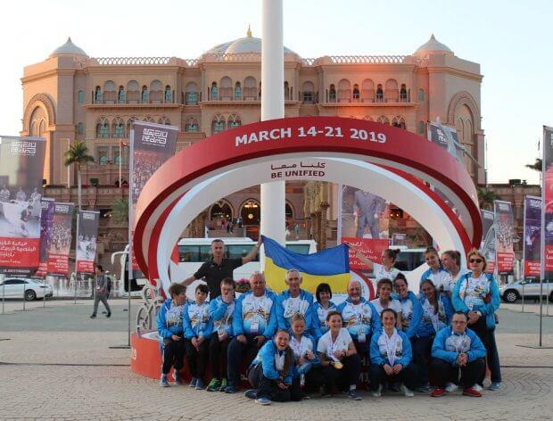 15 медалей привезла збірна Спеціальної Олімпіади України з Всесвітніх Літніх Ігор, що проходили в Об'єднаних Арабських Еміратах ВСЕСВІТНІ ЛІТНІ ІГРИ ОАЕ СОУ ЗМАГАННЯ СПОРТСМЕН