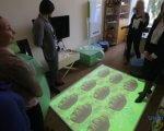 У Тетіївській тергромаді відкрили інклюзивно-ресурсний центр. ірц, тетіївська отг, діагноз, обстеження, особливими освітніми потребами, person, indoor, clothing, table, furniture, footwear, group. A group of people in a room