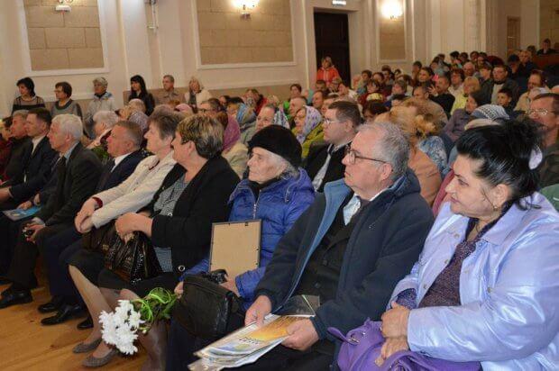 У Ковелі півстолітній ювілей відзначила організація, яка опікується людьми з вадами зору. ковель, утос, вади зору, ювілей, інвалідність