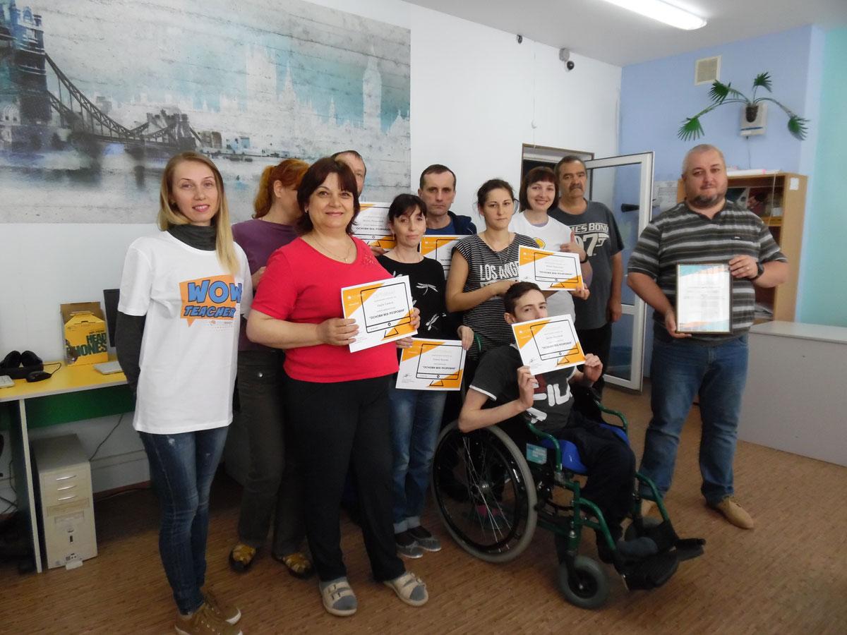В обласному центрі комплексної реабілітації осіб з інвалідністю можна одночасно лікуватися та опанувати професію
