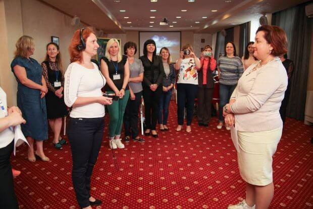 Для керівників ЦНАПів Дніпропетровщини провели тренінги з інклюзії. дніпропетровщина, цнап, тренинг, інвалідність, інклюзія
