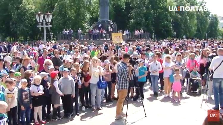 У Полтаві влаштували акцію «Без бар'єрів» (ВІДЕО)