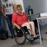 Світлина. Ключове слово – людина: криворіжці руйнують стереотипи про людей з інвалідністю. Новини, інвалідність, суспільство, Кривий Ріг, дискусія, стереотип