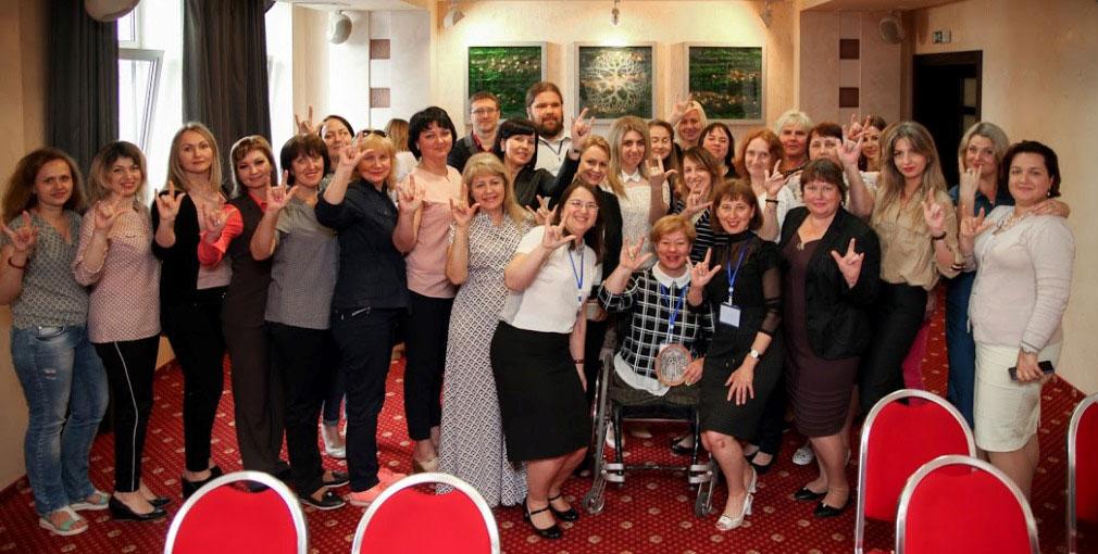 Для керівників ЦНАПів Дніпропетровщини провели тренінги з інклюзії (ФОТО)