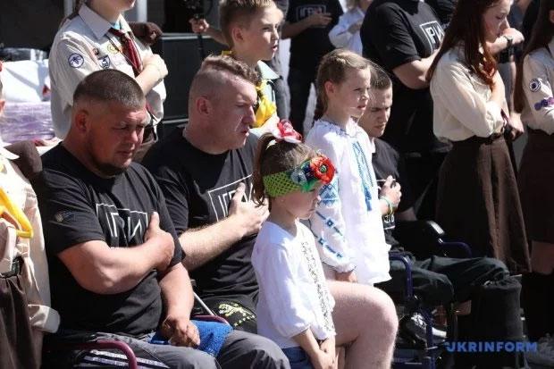 """У Харкові пройшли змагання """"Ігри героїв"""" для поранених українських захисників. ігри героїв, харків, ветеран, змагання, поранений"""