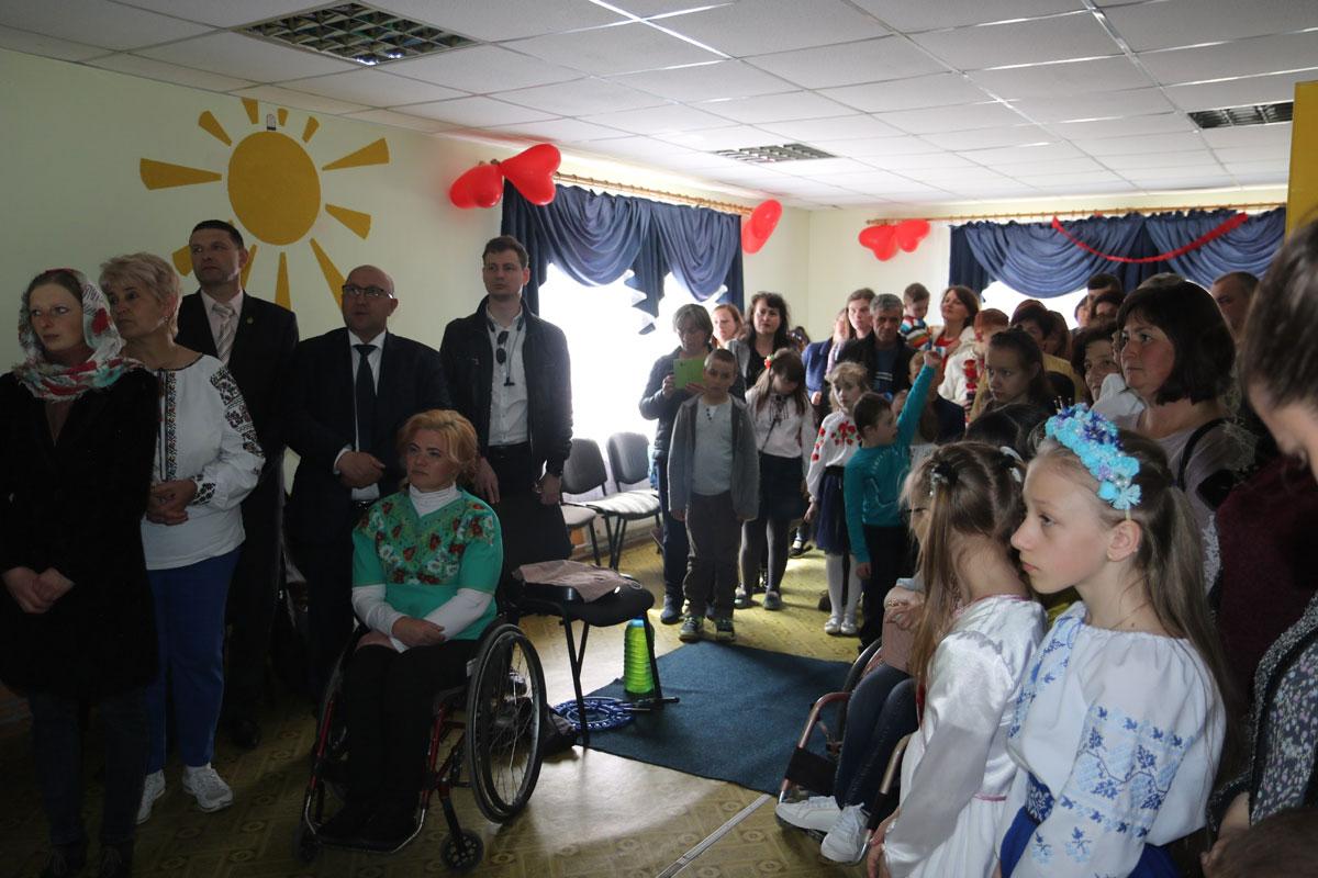 У Богородчанах відкрили реабілітаційний центр для дітей з обмеженими можливостями (ФОТО)