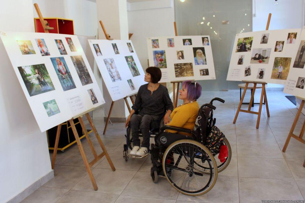 Десятки українців з інвалідністю стали учасниками унікального фотопроекту (ВІДЕО)