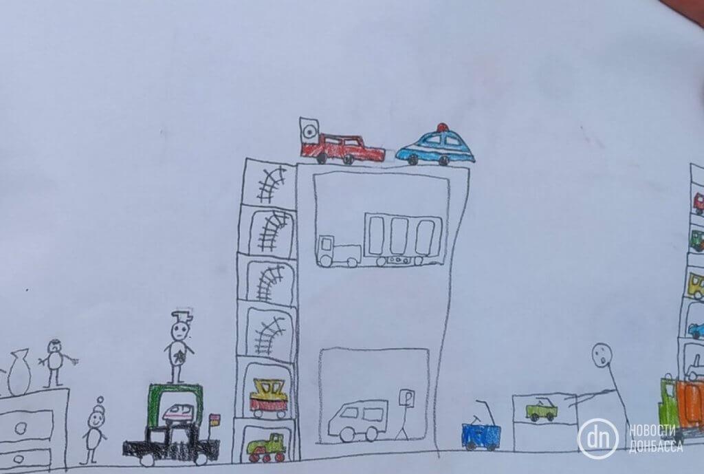 «У меня особый ребенок и все отлично». Как развивается инклюзивное образование в Мариуполе (ФОТО, ВИДЕО). мариуполь, инвалидность, инклюзивное образование, инклюзия, толерантность, text, drawing, sketch, map, child art, art, cartoon. A close up of a map