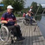 Хто більше наловить риби: поблизу села Дніпровське Чернігівського району змагалися рибалки з інвалідністю (ВІДЕО)