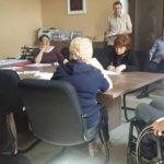 Світлина. Комітет доступності виступить із зверненням до депутатів міської ради про фінансування пандусів. Безбар'ерність, інвалідність, доступність, пандус, засідання, Коломия