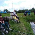 """Світлина. Колектив ГО """"Асоціація осіб з інвалідністю """"Добродія в дії"""" активно відпочивав на березі озера Світязь. Новини, інвалідність, змагання, відпочинок, Ковель, Світязь"""