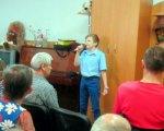 Громадському об'єднанню «Віра» – 20 років. го віра, олександрія, допомога, ювілей, інвалідність, person, clothing, indoor, human face, child, group, man, smile, family. A group of people in a room