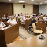 Світлина. Влада на місцях має забезпечити належні умови голосування для осіб з інвалідністю. Безбар'ерність, інвалідність, доступність, засідання, Запорізька область, голосування