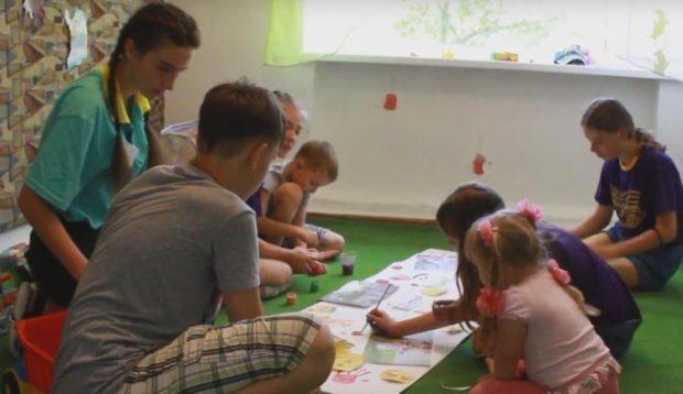 У СОК «Супутник» організовані відпочинкові зміни для інклюзивних дітей. кременчук, сок супутник, відпочинок, табір, інвалідність