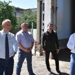 Петро Грицик відвідав недобудований спортивно-реабілітаційний центр в Ужгороді