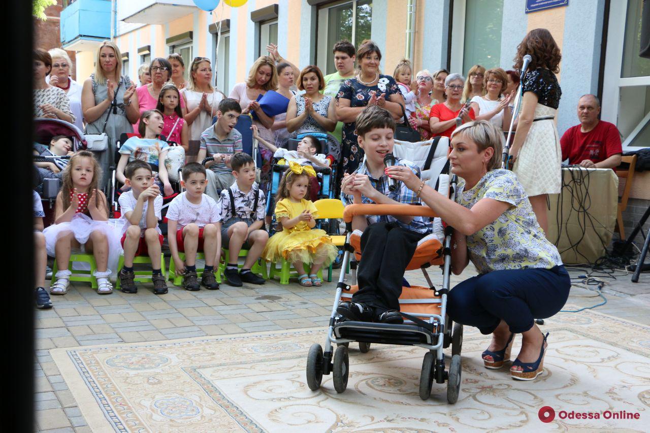На Черемушках открыли новое отделение детского реабилитационного центра (ФОТО)